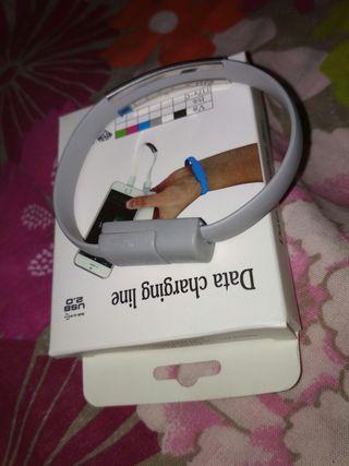 pulsera cable usb