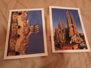 Postales Gaudí, Barcelona