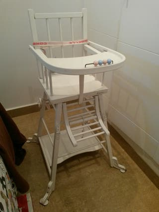 silla para bebe (madera)