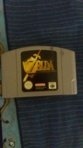 The legend of Zelda : Ocarina of Time N64