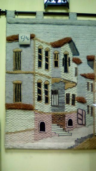 tapices de lana para colgar de la pared