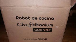 robot cocina chef titanium con voz