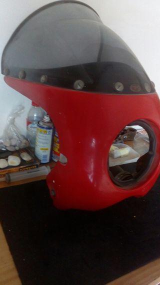 cúpula parabrisas moto