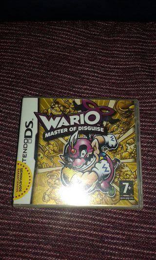 Juego para Nintendo ds Wario Master Of Disguise