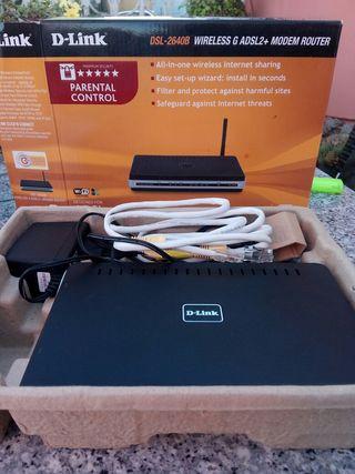modem router wireless D-Link DSL-2640B