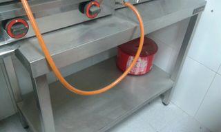 mesa freidora