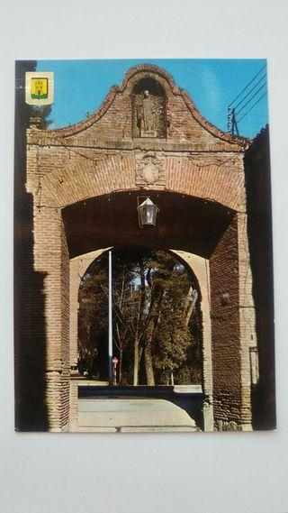 carta postal Alcala de Henares