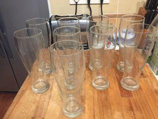 Juego vasos elegantes