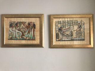 Cuadros originales egipcios gran calidad