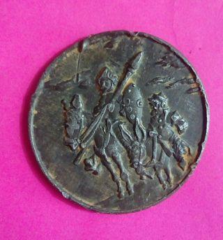 medalla don Quijote de la mancha