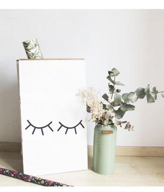 Saco de papel decoracion
