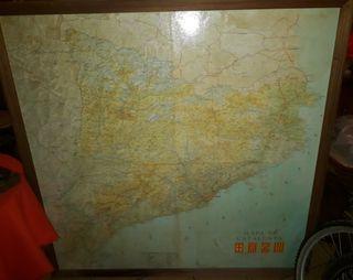 Mapa Catalunya antiguo