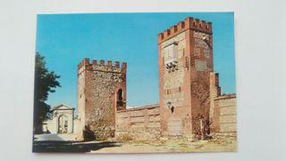 postal Alcala de Henares, Murallas