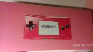 Consola nintendo game boy micro nueva