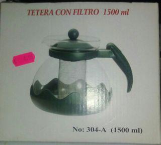 Tetera con Filtro 1500ml