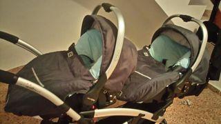 carro de gemelar de bebe