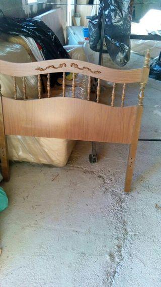 Cubrecolchon acolchado cama 90 de segunda mano por 7 en for Cabezal cama acolchado