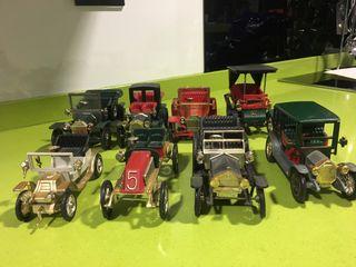 Lote Nacoral coches antiguos de época, rico,paya,pilen,guisval,