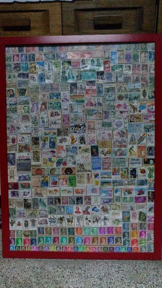 Colección de sellos de España y del mundo