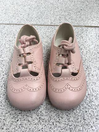 Calzado infantil-zapato ingles