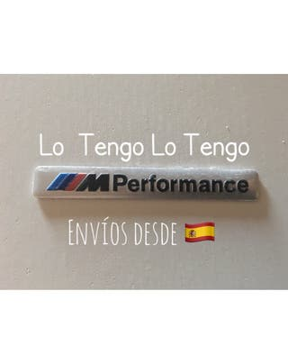 Emblema Metal BMW M Performance-2 colores
