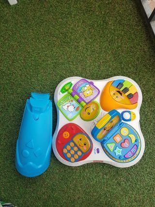 mesa de juguete estimulacion.