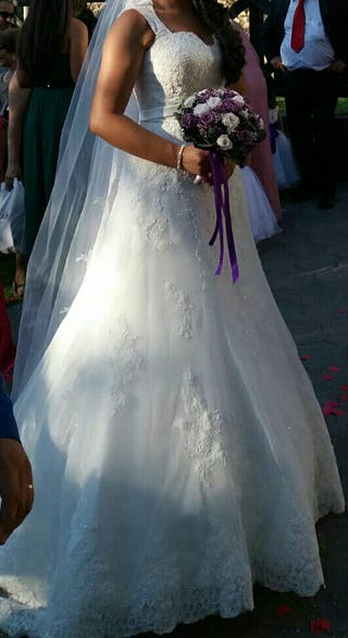 Vestido Novia Jaleb 2017