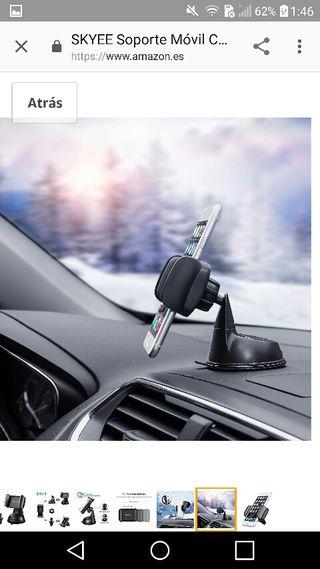 soporte para el coche (movil gps..)