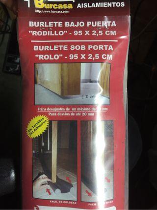 Burlete Bajo Puerta Rodillo 95x2,5 cm