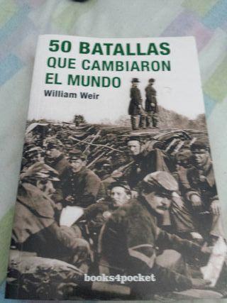 libro 50 batallas que cambiaron el mundo