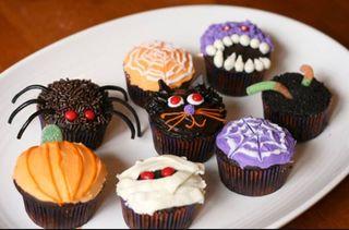 Cup cakes hallowen
