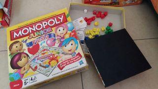 juego de mesa - monopoly junior