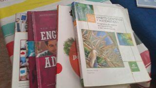 libros 2 ESO DE PMAR instituto los olivos