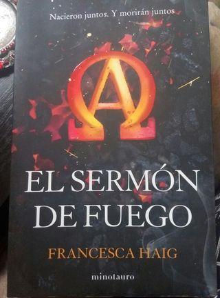 El sermón de fuego. Francesca Haig