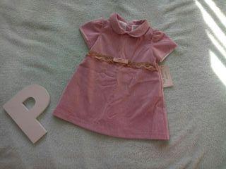 vestido pana 12 meses