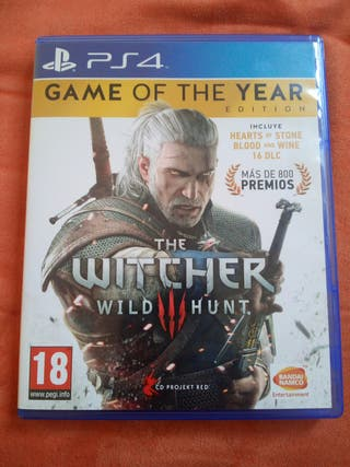 Juego ps4 THE WITCHER