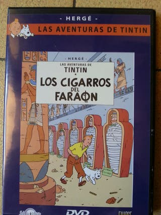 Tintín, los Cigarros del Faraón