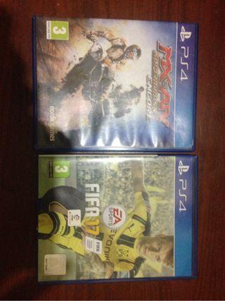 Juegos PS4 Fifa 2016(mx vs mx