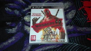 Deadpool Masacre Ps3 PlayStation 3