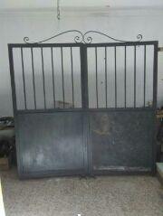 puerta chalet