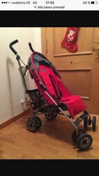Silla de paseo bebé. Prenatal