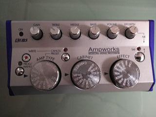 Emulador amplificador guitarra Korg Ampworks