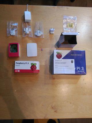 Mini ordenador Raspberry Pi 3. Modelo B