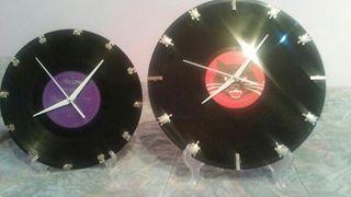 Reloj disco vinilo
