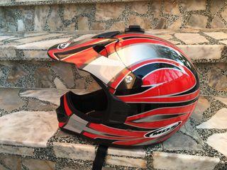 casco motocross quad enduro
