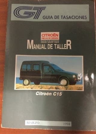 MANUAL DE TALLER CITROEN C15