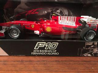 Ferrari F10 Fernando Alonso 1:18 1/18