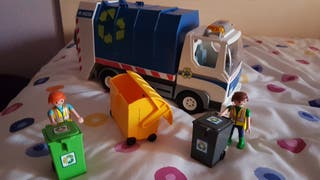 camion basura reciclaje Playmobil