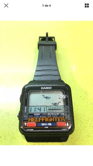 Reloj casio game watch Helifigther GH-16