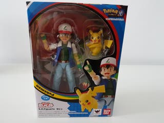sh figuarts Ash y Pokemon